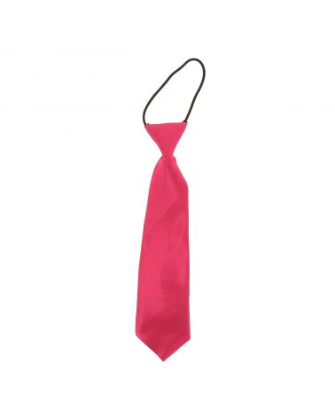 Cravate Enfant Rose vif