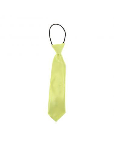 Cravate Enfant Vert anis