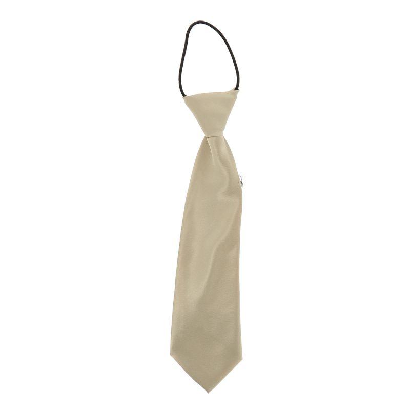 Cravate Enfant Beige