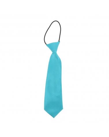 Cravate Enfant Bleu turquoise