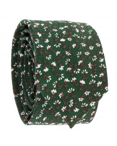 Cravate Liberty Verte