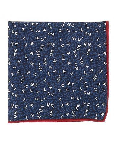 Pochette Costume Liberty Bleu foncé