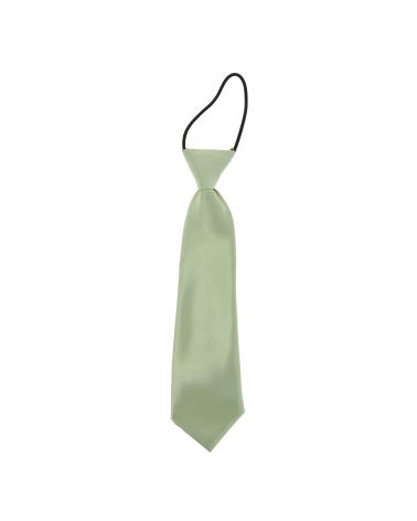 Cravate Enfant Vert amande