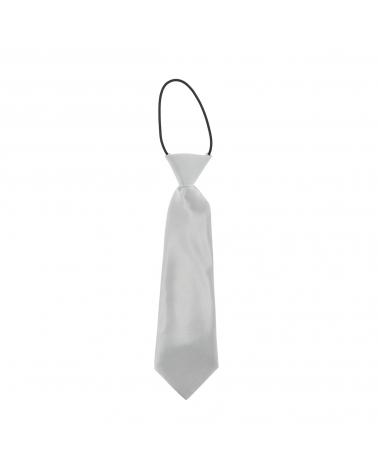 Cravate Enfant Gris argent