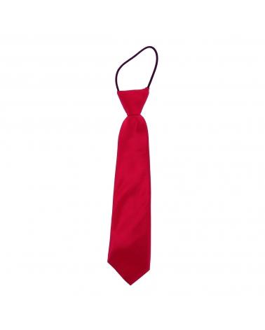 Cravate Enfant Rose framboise