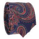 Cravate Slim Rose Premium - Cravate Mariage