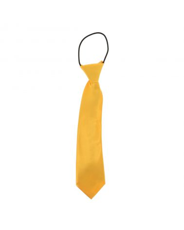 Cravate Enfant Jaune Orange