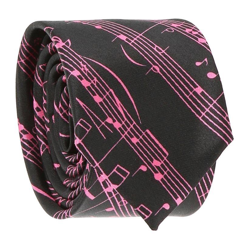 Cravate Partition Rose