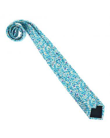 Cravate Liberty Bleu turquoise