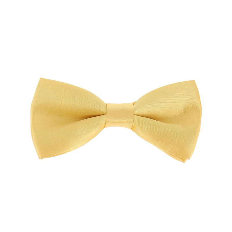 Noeud Papillon Enfant Jaune pale