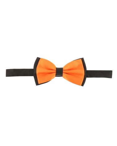 Noeud Papillon Double Orange