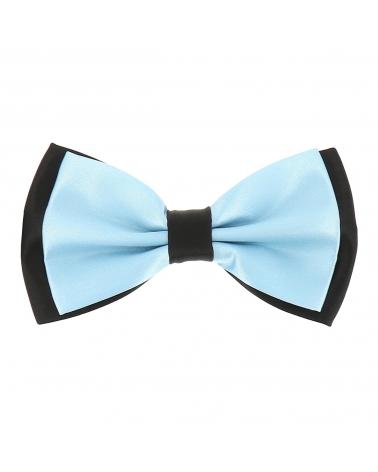 Noeud Papillon Double Bleu ciel