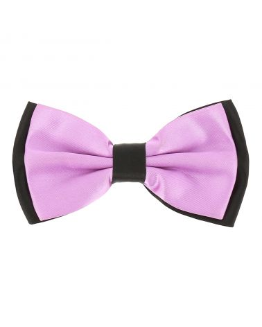 Noeud Papillon Double Mauve