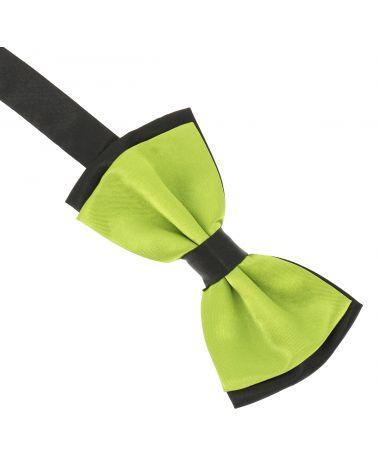 Noeud Papillon Double Vert citron