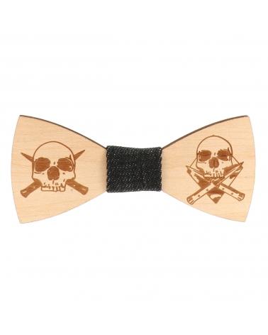 Cravate Note de Musique Noire et Rose - Cravate Fantaisie