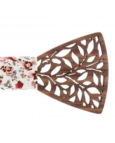 Cravate Simili cuir Bordeaux - Cravate Originale