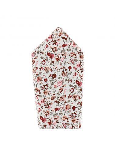 Coffret Noeud Papillon Bois et Accessoires Liberty Vieux rose