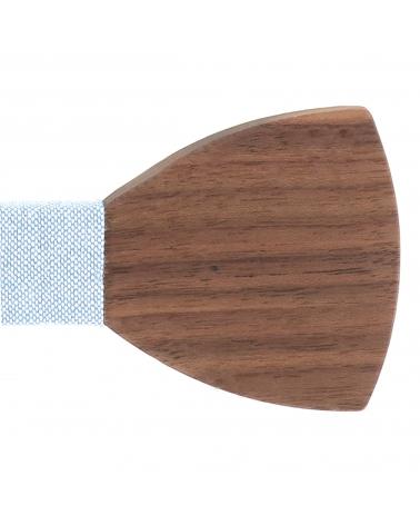 Cravate Simili cuir Bleu marine - Cravate Originale