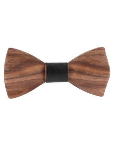"Cravate Slim unie coloris ""noir"""