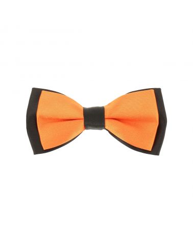Noeud Papillon Garçon Double Orange