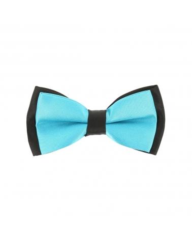 Cravate Slim Bleu turquoise