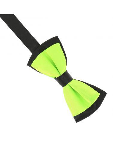 Noeud Papillon Garçon Double Vert fluo