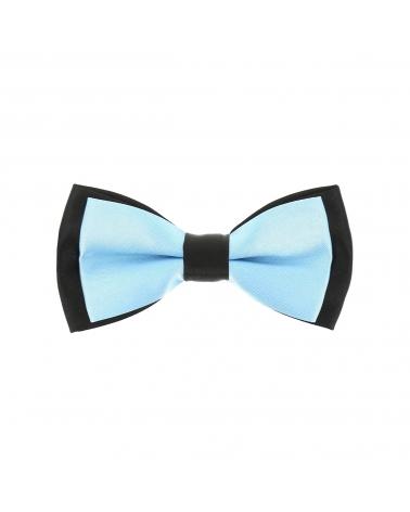 Noeud Papillon Garçon Double Bleu ciel