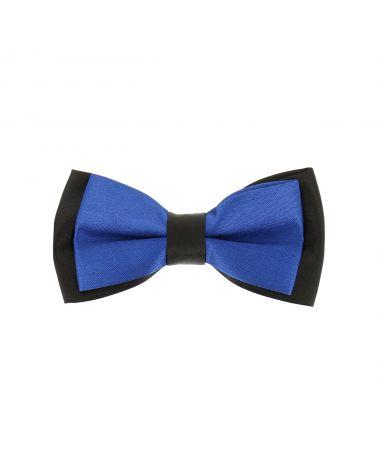 Noeud Papillon Garçon Double Bleu roi