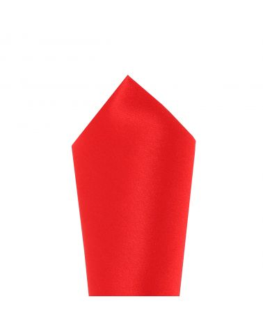 Pochette Costume Rouge intense