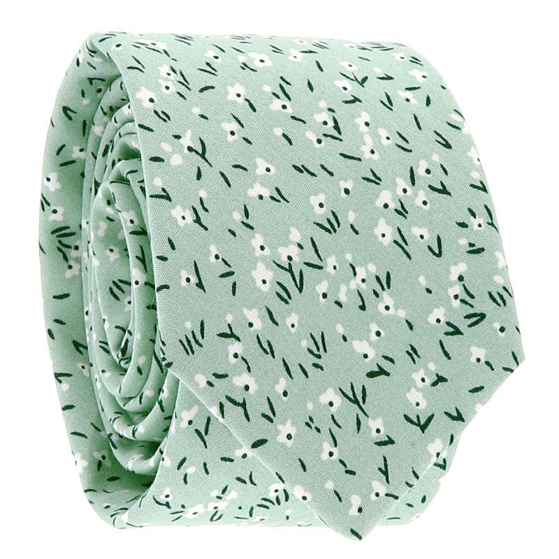 Cravate Liberty Vert d'eau
