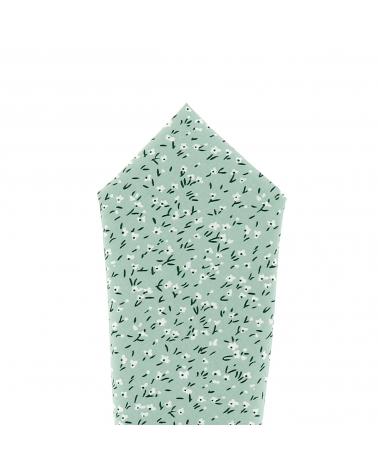 Pochette Costume Liberty Vert d'eau
