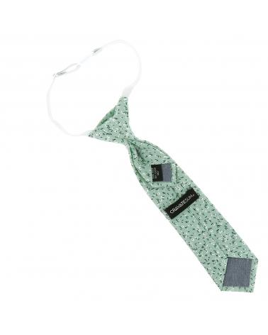 Cravate Garçon Liberty Vert d'eau