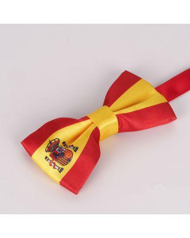 Noeud Papillon Drapeau Espagnol - Drapeau Espagne