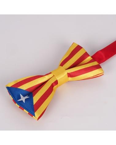 Noeud Papillon Drapeau Catalan - Drapeau Catalogne La Senyera