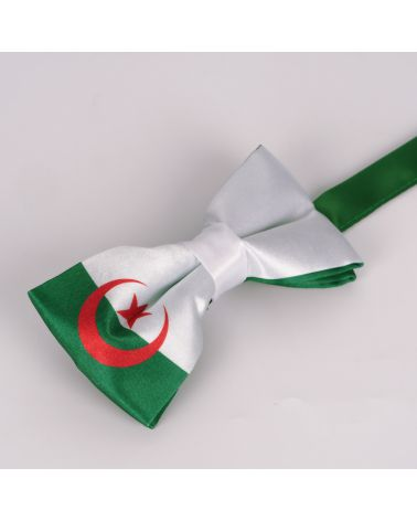 Noeud Papillon Drapeau Algérien - Drapeau Algérie