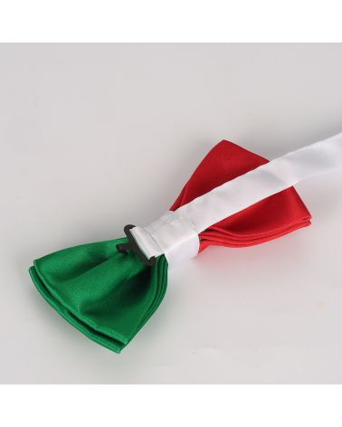 Noeud Papillon Drapeau Italien - Drapeau Italie