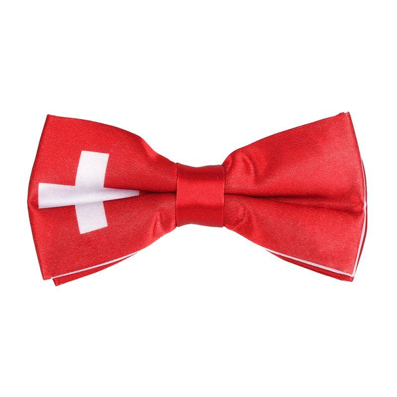 Noeud Papillon Drapeau Suisse
