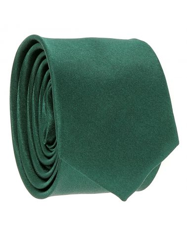 Cravate Slim Vert foncé
