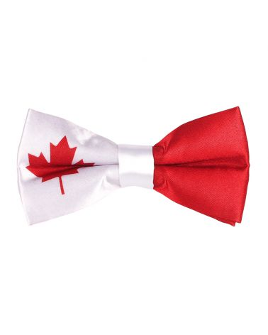 Noeud Papillon Drapeau Canadien - Drapeau Canada Maple Leaf