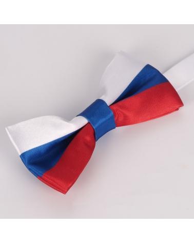 Noeud Papillon Drapeau Russe - Drapeau Russie