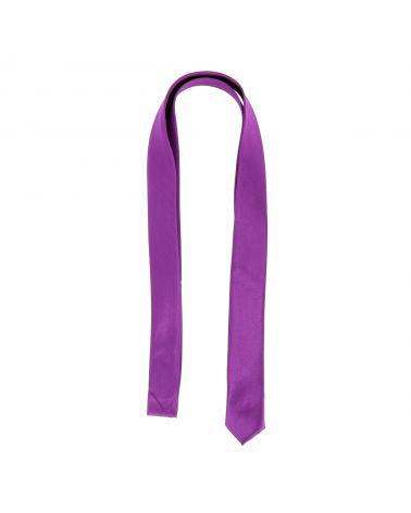 Cravate Extra Slim Violet clair 3cm