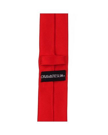 Cravate Slim Rouge Premium