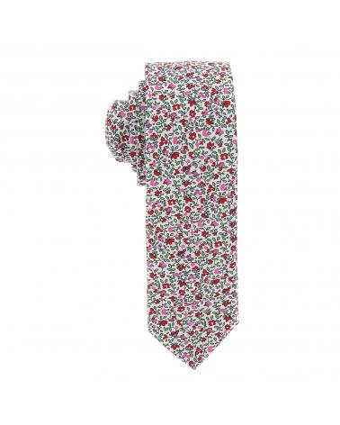 Cravate Liberty Rose Slim