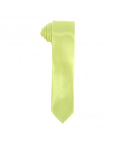 Cravate Slim Vert anis