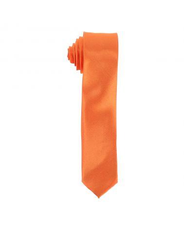 Cravate Slim Orange