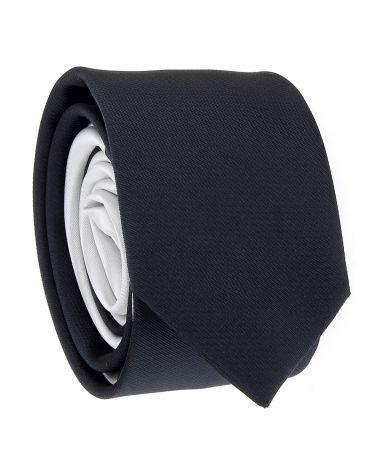 Cravate Slim Bicolore Bleu marine et Gris clair