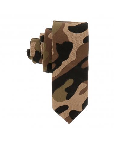 Cravate Militaire Camel