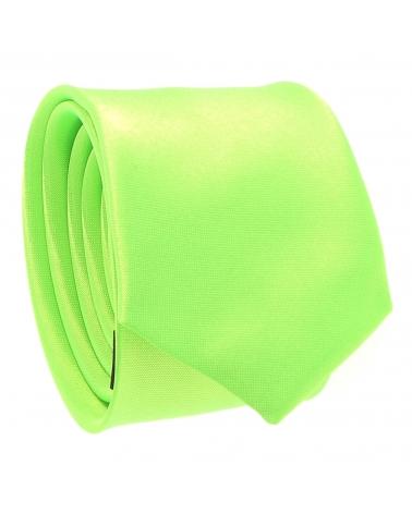 Cravate Slim Vert fluo