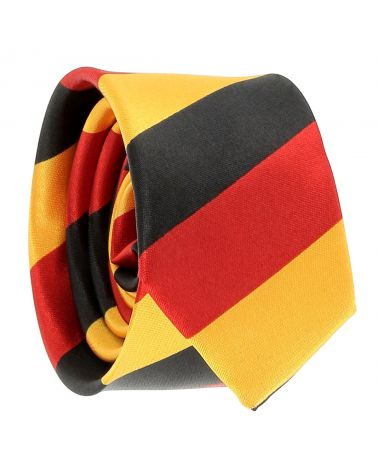 Cravate Drapeau Belge