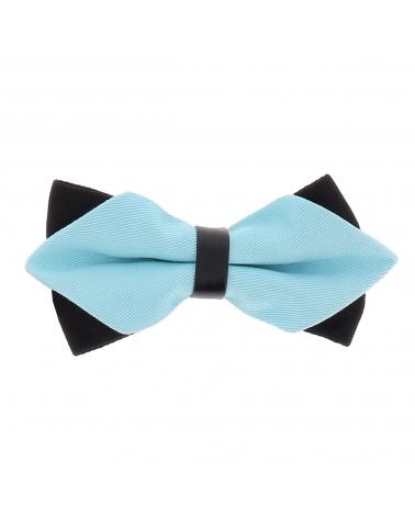 Noeud Papillon Bleu turquoise Double
